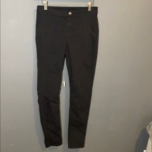 H&M divided black jeans work pants